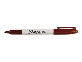 Sharpie Permanent Marker, 1 mm, Bruin