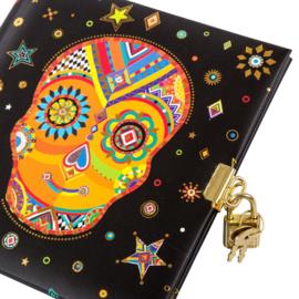 Turnowsky Skull dagboek met slot  [1765]