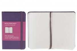 Moleskine notitieboek blanco violet PAARS 9x14cm (pocket) [2365]