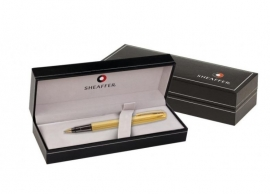 SHEAFFER Sagaris BALPEN Brushed Chrome  met Chroom [2268]