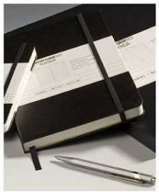 Leuchtturm1917 Hardcover Notitieboek Gelinieerd 14.5 x 21cm - A5 zwart [328]