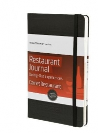 Moleskine Notitieboek Passion Journal Restaurant Uit eten en drinken  [1643]