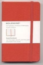 Moleskine Notitieboek Gelinieerd ROOD 9x14cm (Pocket) [113]