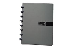Brepols notitieboek A5 gelinieerd grijs