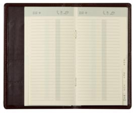 xx Brepols insteek adresboek Alfabet Interplan/Omniplan 9x16 cm [2124]