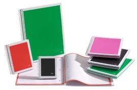 Miquelrius MR Quadro Spiraal notitieboek Gelinieerd A7