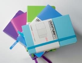 Leuchtturm1917 Colour notitieboek Gelinieerd 9 x 15 cm (Pocket) turquoise[1278]