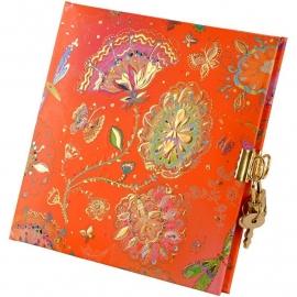 Turnowsky Silver Moon Orange dagboek met slot