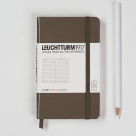 Leuchtturm1917 Colour notitieboek Gelinieerd 9 x 15 cm (Pocket) taupe [1274]