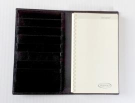 xx 2020 Brepols TEMPUS FUGIT Lederen agenda 17 x 10 cm zwart [2082]