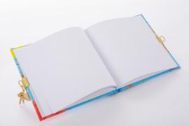 Turnowsky Phantasy Blue dagboek met slot  [1896]