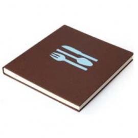 Bindewerk Pure Colour Kook- en Receptenboek bruin [2193]