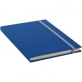 Goldbuch Linum gebonden gelinieerd Notitieboek 15,3 x 21,5cm Blauw linnen