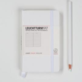 Leuchtturm1917 Colour notitieboek Gelinieerd 9 x 15 cm (Pocket) stralend wit [1275]