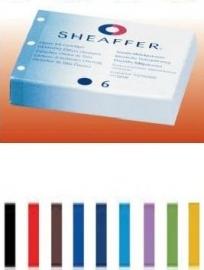 SHEAFFER Skrip classic vulpen inktpatronen 6 stuks | kies je kleur