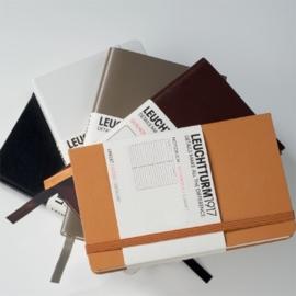 Leuchtturm1917 Colour notitieboek Gelinieerd 9 x 15 cm (Pocket) taupe