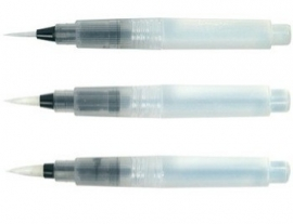 Koi Water Brush Penselen Set Small + Medium + Large