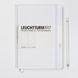Leuchtturm1917 Colour notitieboek blanco 14,5 x 21 cm (A5) Stralend WIT [772]