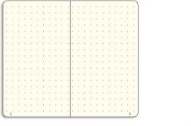 Hardcover Notitieboek Leuchtturm1917 dotted Medium A5 Oranje [794]