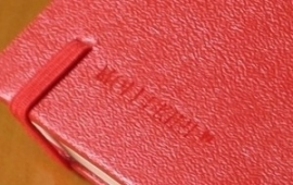 Moleskine notitieboek blanco ROOD 9x14cm (pocket) [105]