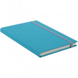 Goldbuch Linum gebonden gelinieerd Notitieboek 15,3 x 21,5cm Turquoise linnen