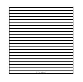 Lijnenvel voor blanco dagboek  7mm vierkant  [download]