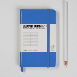 Leuchtturm1917 Colour notitieboek Gelinieerd 9 x 15 cm (Pocket) cornflower [1279]