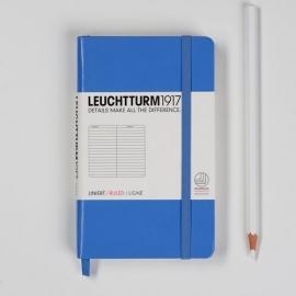 Leuchtturm1917 Colour notitieboek Gelinieerd 9 x 15 cm (Pocket) cornflower