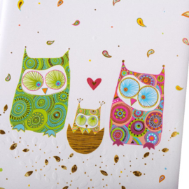 Turnowsky Babydagboek - Owls Family  [1890]