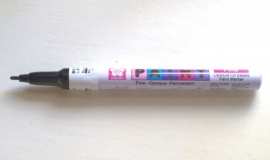 Sakura Opaque Oil based Paint Marker paintmarker Zwart Fijn [645]