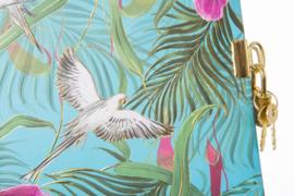 Turnowsky Tropical Papagei dagboek met slot  [1864]