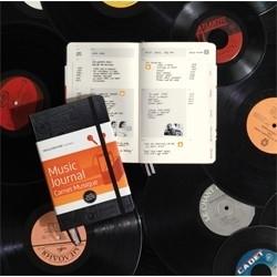 Moleskine Notitieboek Passion Journal MUSIC Muziekdagboek [154]