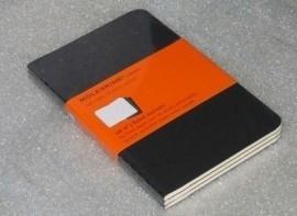 Setje van 3 Moleskine Cahier Gelinieerde notitieboeken  9x14cm [95]