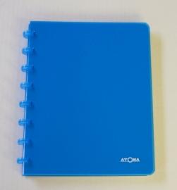 Trendy Atoma notitieboek A5 gelinieerd hemelsblauw