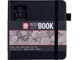Sakura schetsboek  Note, 12 x 12 cm