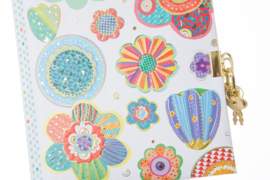 Turnowsky Mosaic Flower dagboek met slot