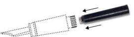 CONVERSION KIT rollerball naar vulpen ACME STUDIO [706]