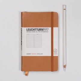 Leuchtturm1917 Colour notitieboek Gelinieerd 9 x 15 cm (Pocket) Caramel [1273]