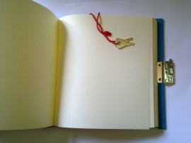 Dagboek met slot Flower Power Rain roze [1462]