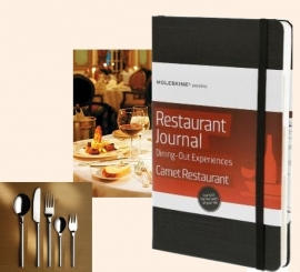 Moleskine Notitieboek Passion Journal Restaurant Uit eten en drinken
