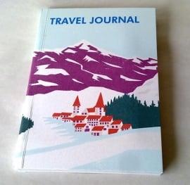 SUKIE Travel Journal  Alpine Village Reisdagboek met envelopjes