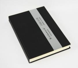 xx Bindewerk Pure Colour gelinieerd notitieboek A5 zwart [1504]