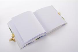 Turnowsky Tropical Flamingo dagboek met slot  [1893]