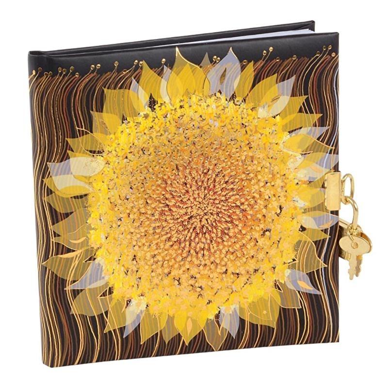 Turnowsky Starry Sunflower Dagboek met slot