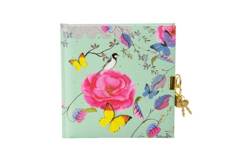 Turnowsky Phantasy Mint dagboek met slot