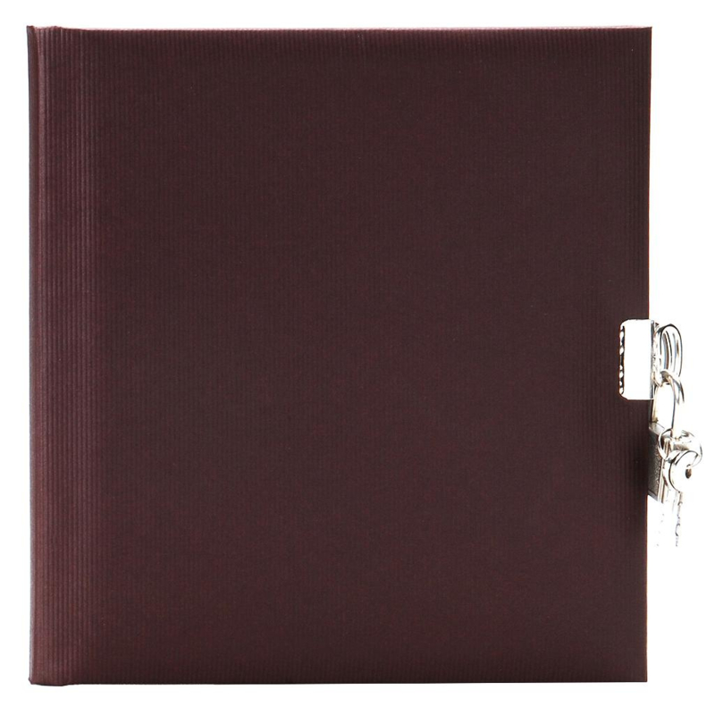 Goldbuch Seda Aubergine dagboek met slot  [1486]
