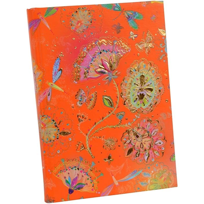 Turnowsky Silver Moon Orange Notitieboek Blanco A5