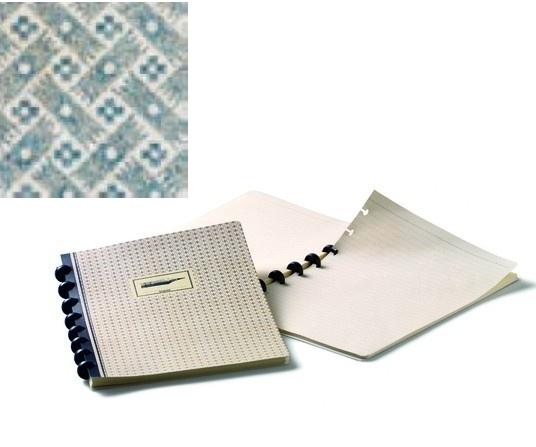 Atoma Brepols Chambord A5 notitieboek speelkaartmotief grijs hatch [2044]
