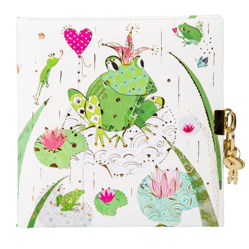 Turnowsky Frog dagboek met slot