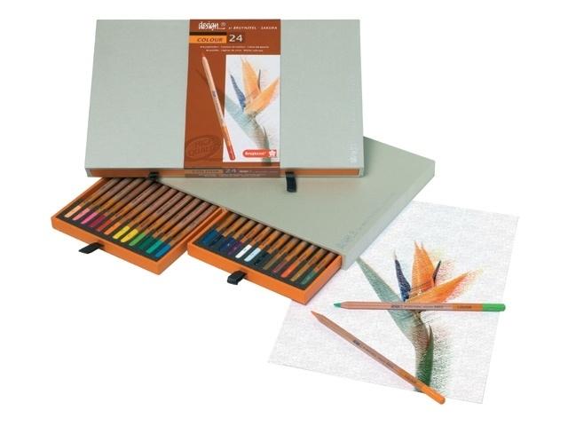 Bruynzeel Design Colour box 24 KLEURPOTLODEN